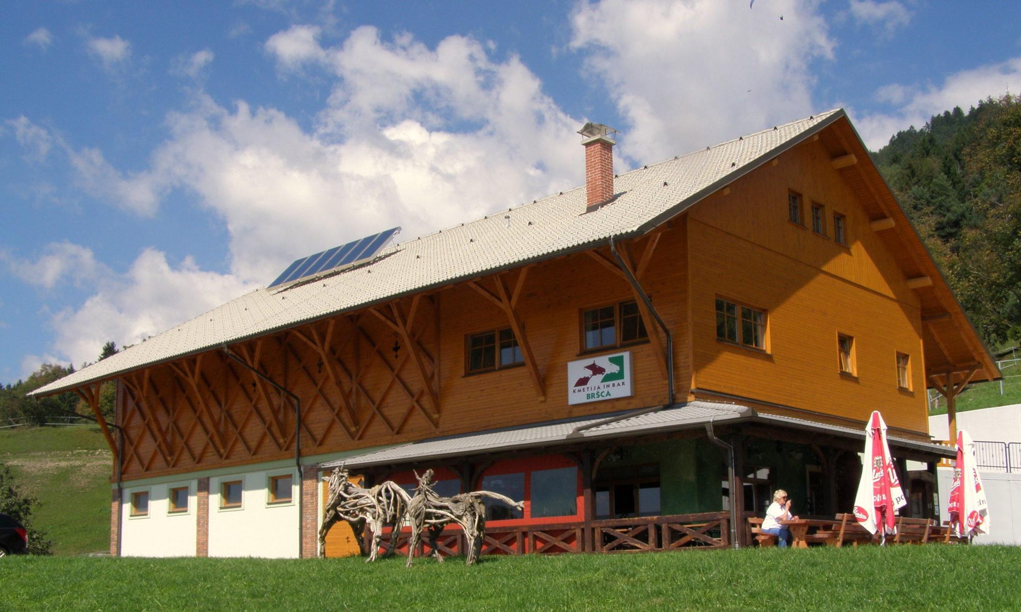 Kmetija in bar Bršca